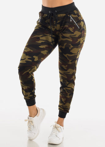 Image of Camo Jogger Pants