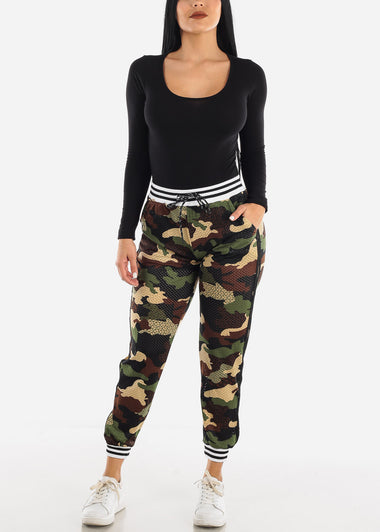 Perforated Camo Pants