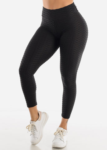 Anti Cellulite Black Leggings
