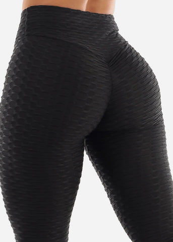 Image of Anti Cellulite Black Leggings