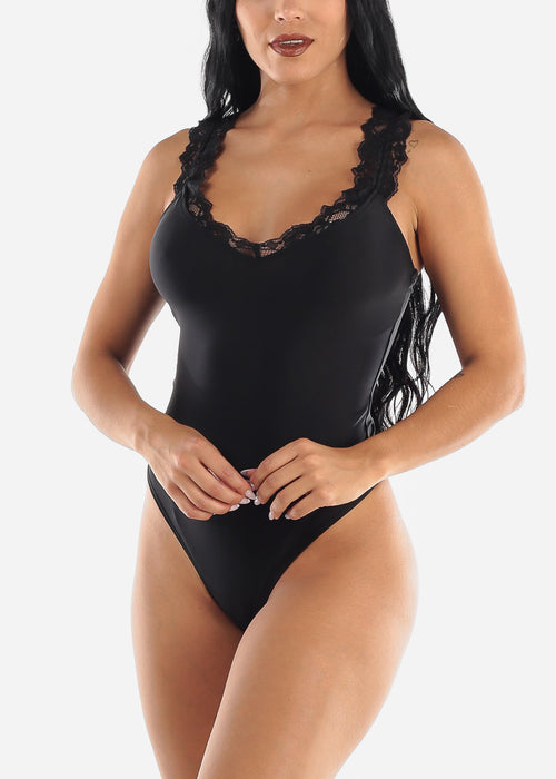 Sexy Black Bodysuit