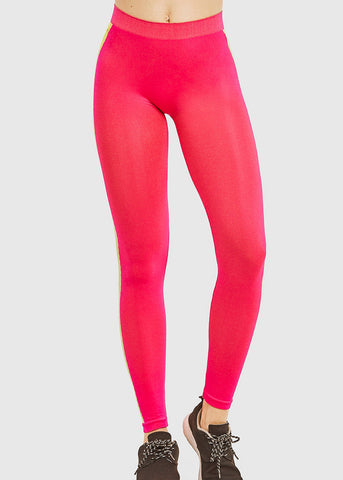 Image of Activewear Hot Pink Leggings (ONE SIZE)