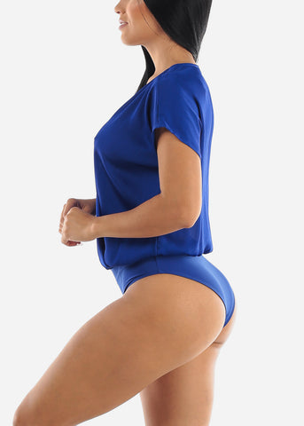 Image of Royal Blue Loose Bodysuit