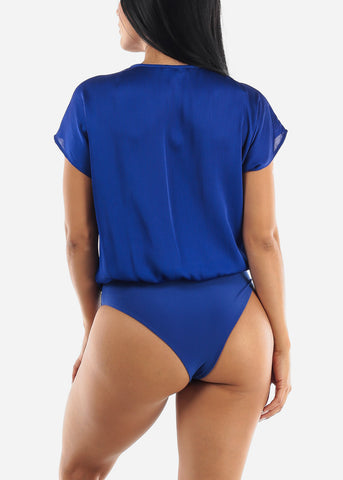 Royal Blue Loose Bodysuit