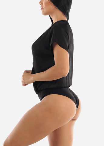 Image of Black Loose Bodysuit
