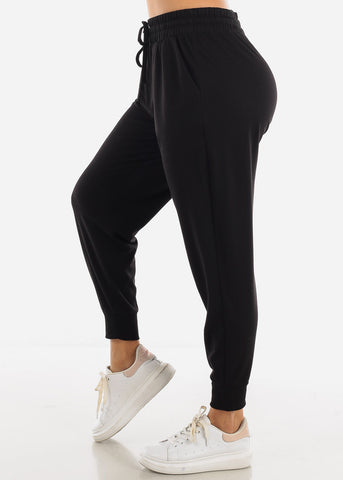 Image of Black Jogger Sweatpants