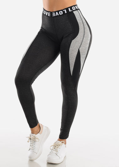 Activewear Charcoal Leggings