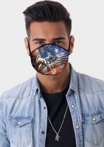 Image of American Eagle Face Cover