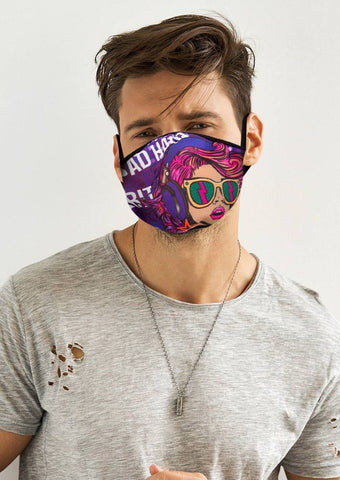 Image of Bad Habit Face Cover