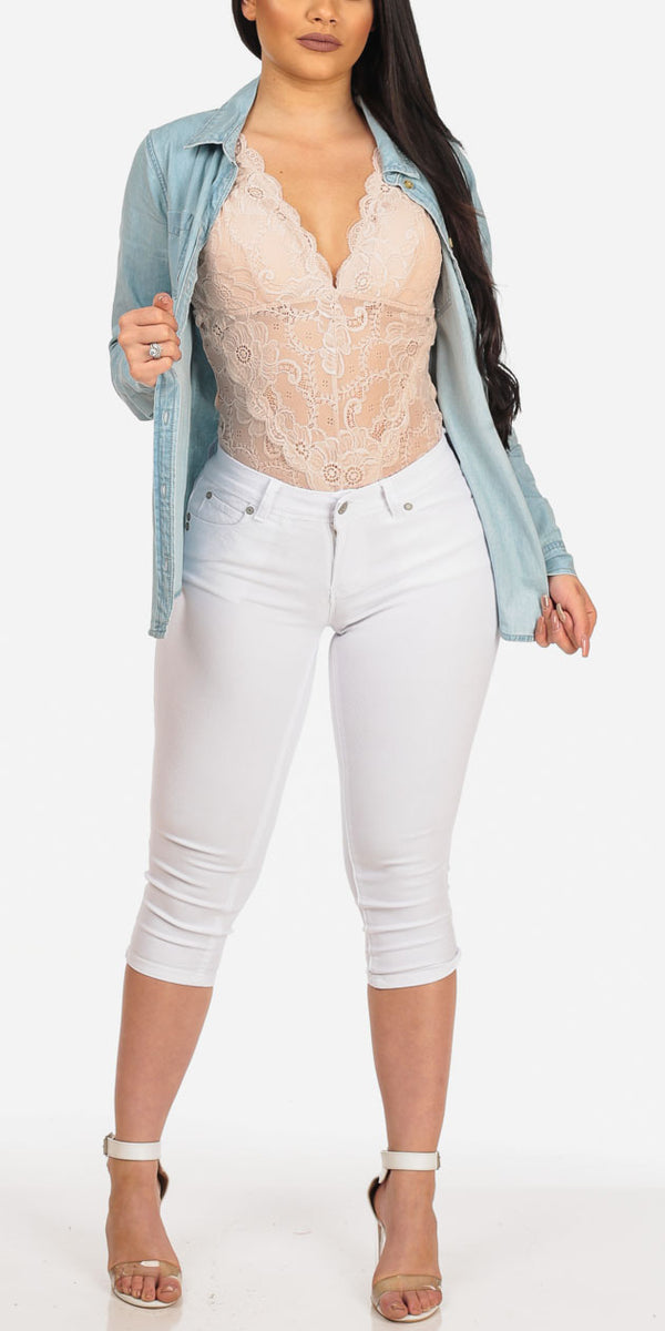 Lace That Denim
