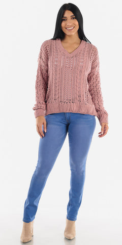 Lovely Pink Knit