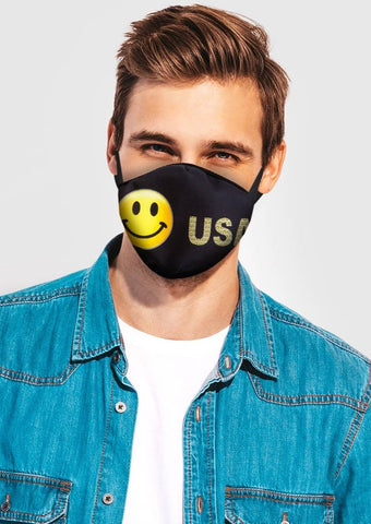 Image of Happy Face Face Cover