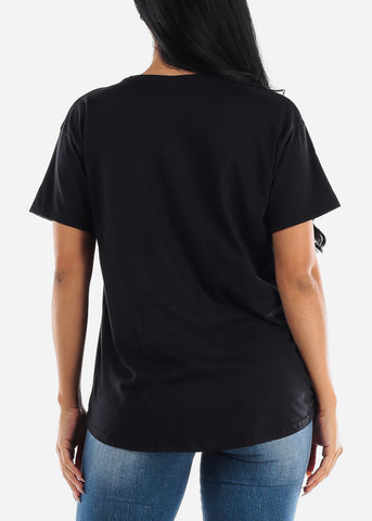 "Image of Black Graphic Tee ""Wicked"""