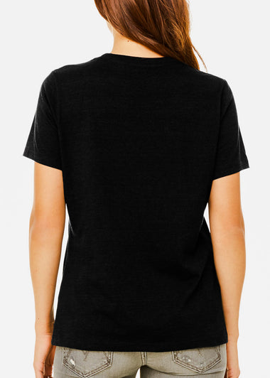 Black Heather Graphic Tee
