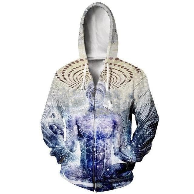 Cosmic Threads Hoodies Awake Could Be So Beautiful By Cameron Gray