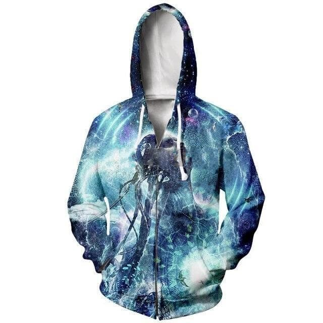 Cosmic Threads Hoodies Become The Light By Cameron Gray