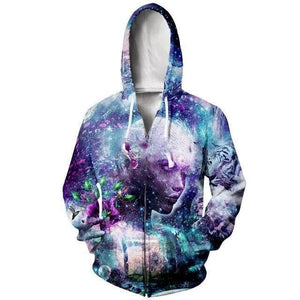 Cosmic Threads Hoodies Discovering The Cosmic Consciousness By Cameron Gray