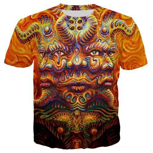 Cosmic Threads Shirts I Am Everywhere Psychedelic T Shit