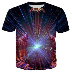 Cosmic Threads Shirts Inner Light Psychedelic T Shit