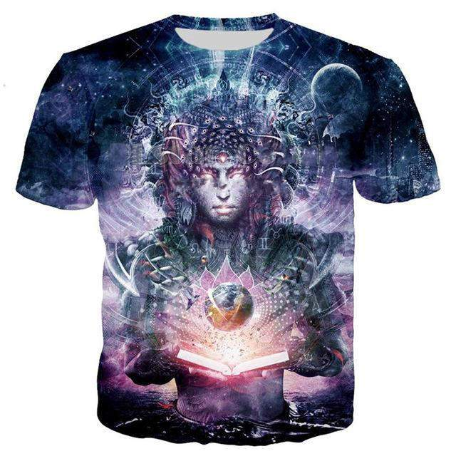 Cosmic Threads Shirts Ocean Atlas by Cameron Gray