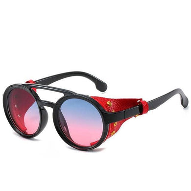Cosmic Threads Sunglasses The Cyber Shaman Designer Sunglasses - Blood