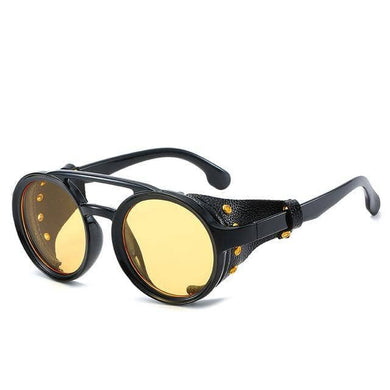 Cosmic Threads Sunglasses The Cyber Shaman Designer Sunglasses - Gold