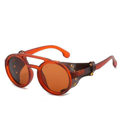 Cosmic Threads Sunglasses The Cyber Shaman Designer Sunglasses - Orange