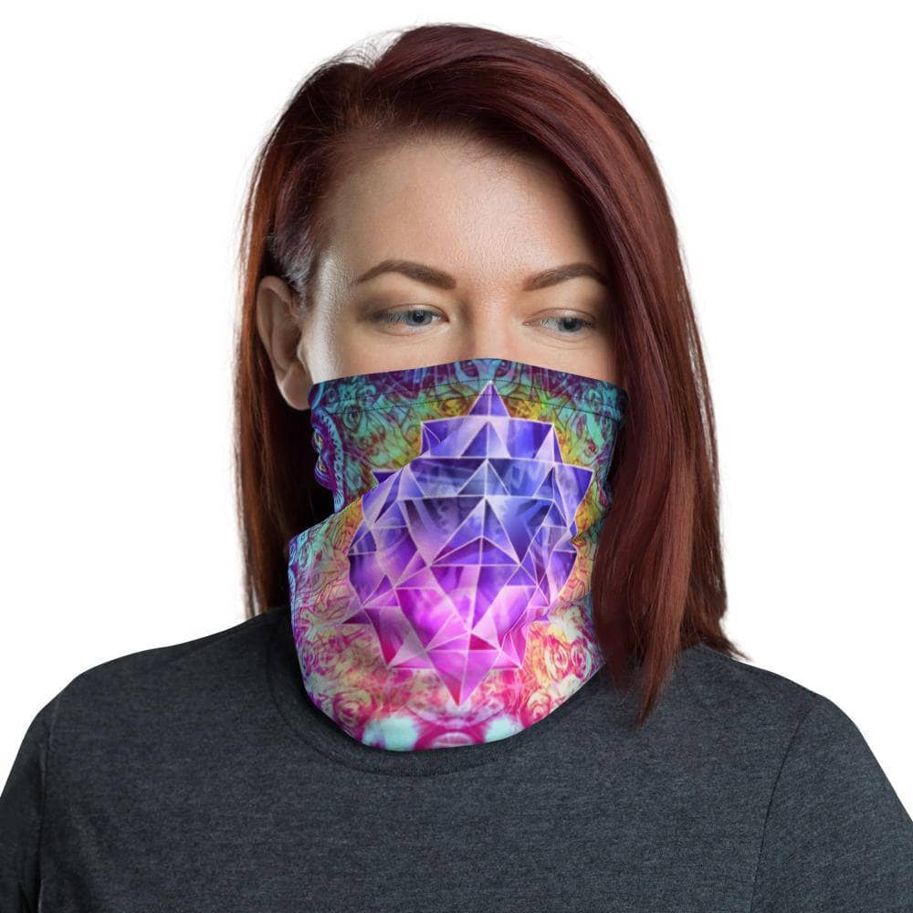 Cosmic Threads The Philosopher Face Mask Neck Gaiter Head Covering