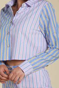 Mixmatch Button Up