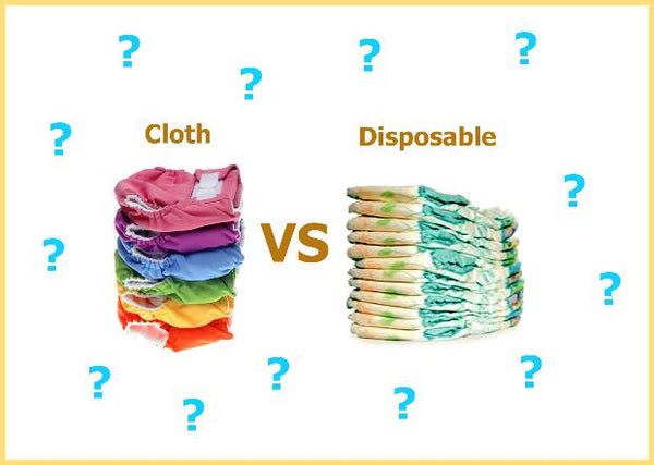 Cloth Diaper vs. Disposable, Hipposshop