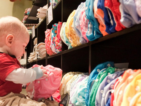 Safely Store Your Cloth Diapers
