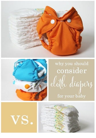 Cloth Diapers vs Disposable Diapers?