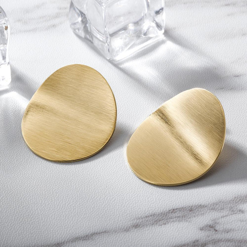 Disc Statement Earrings | Hipposshop