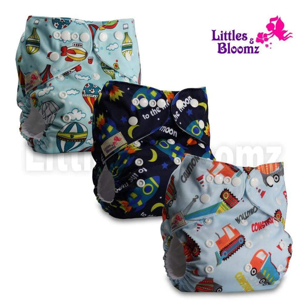 reusable diaper set