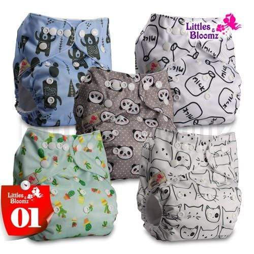 pocket cloth diaper set