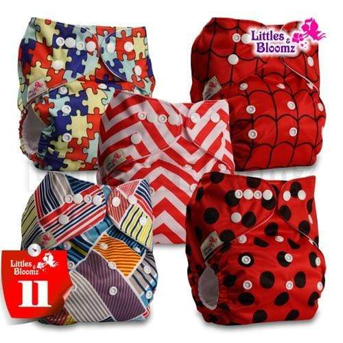 cloth diaper set for 3 to 15kg babies