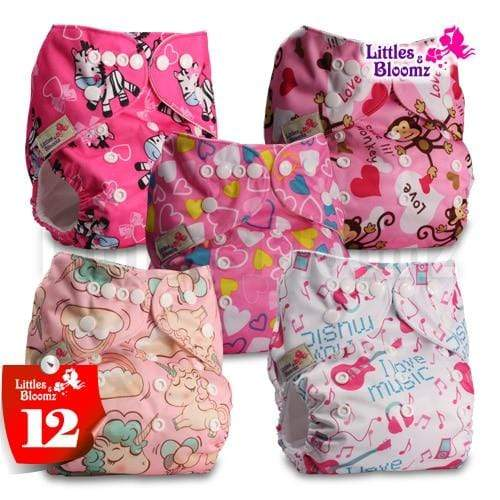 reusable cloth diapers with inserts