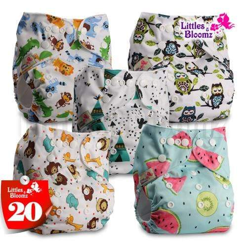waterproof cloth diapers with inserts