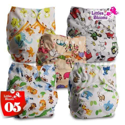 save money with reusable cloth diapers