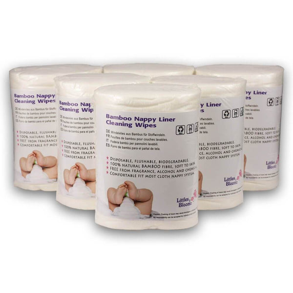 Bamboo Flushable Diaper Liners
