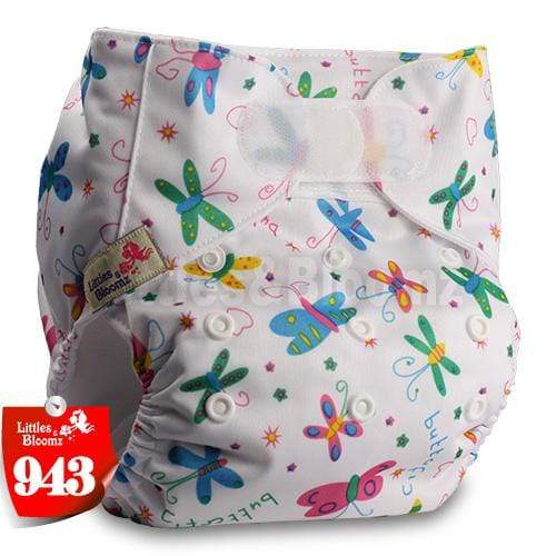 Nappy Diaper with Hook-Loop