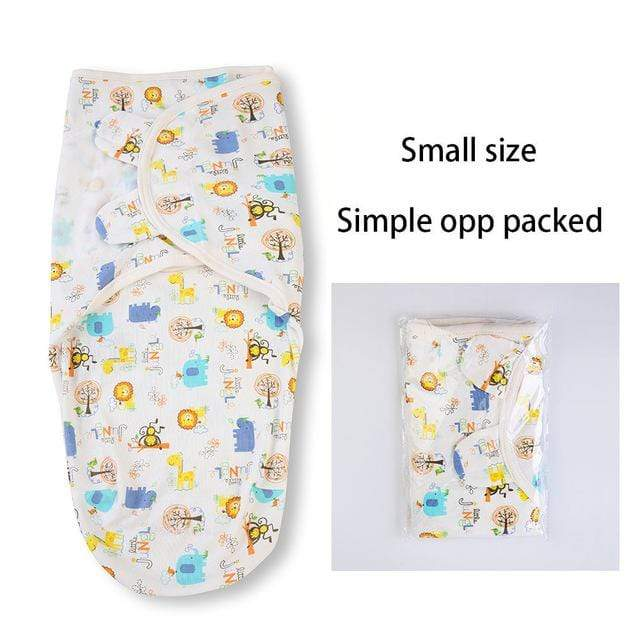 small size opp pack swaddle wrap
