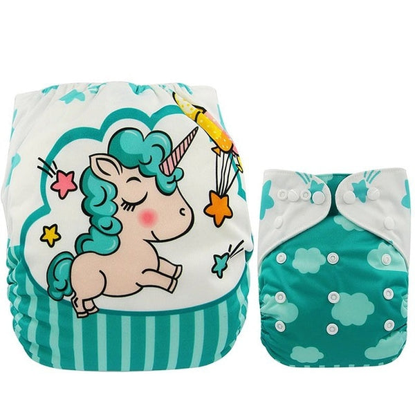 Reusable Pocket Cloth Diaper