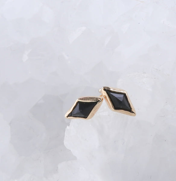 Double Diamond Studs