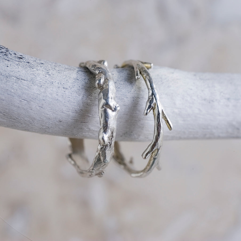 Branch & Twig Ring Set