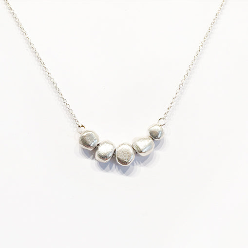 5 or 7 Pebble Necklace