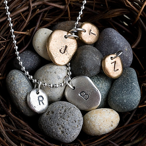 Large Pebble Charm