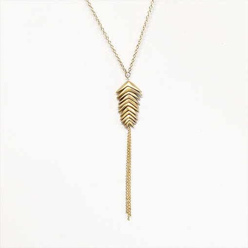 Mountain Brome Necklace, 11 Spikelet