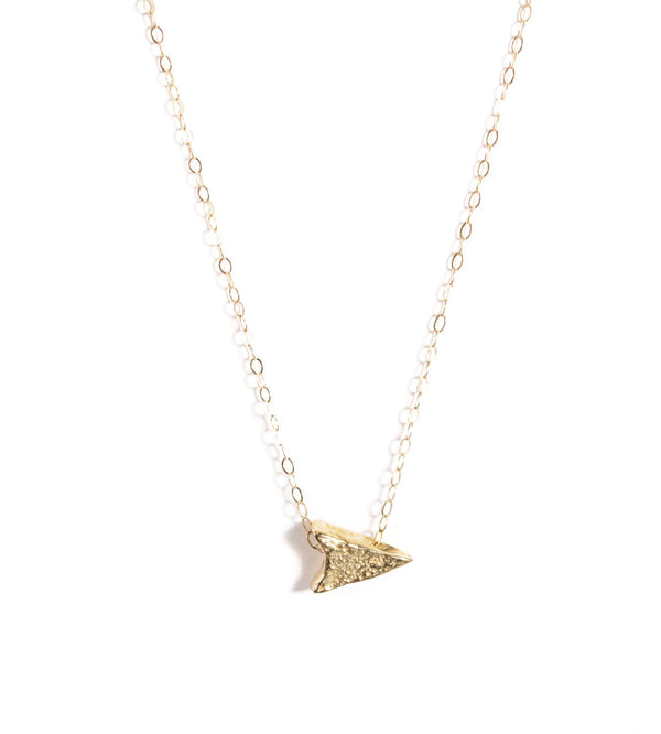 14k Arrowhead Choker | 14k Gold or Sterling Silver Choker Necklace