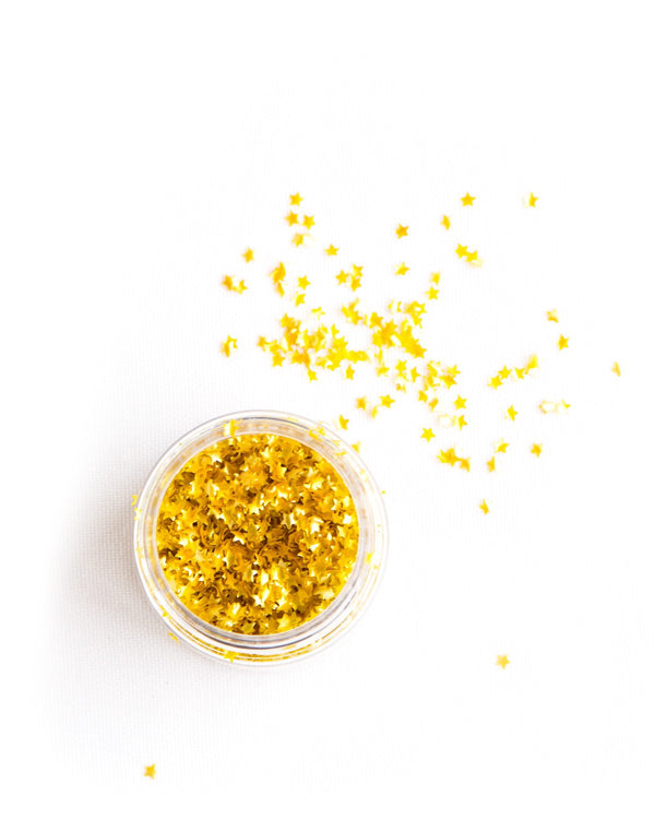 EDIBLE GOLD Metallic Stars, Vegan/GF/Kosher - Sweetapolita